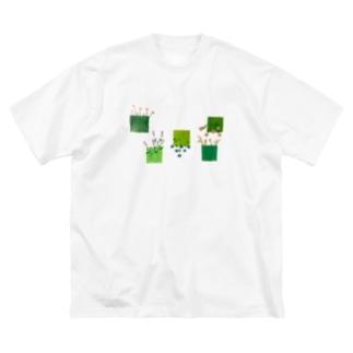 こころの庭 Big Silhouette T-Shirt