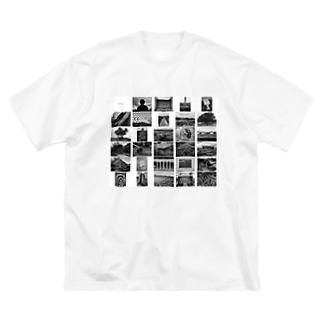 写真家・宮坂泰徳の『CS』 by 『19x19+0.5』 Big silhouette T-shirts