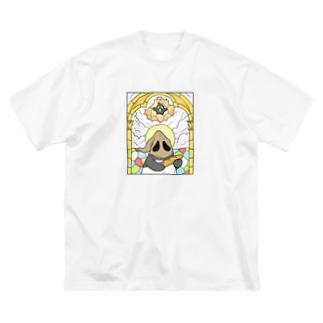 選ばれしもの Big silhouette T-shirts