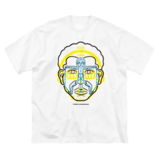 図人間1 Big silhouette T-shirts