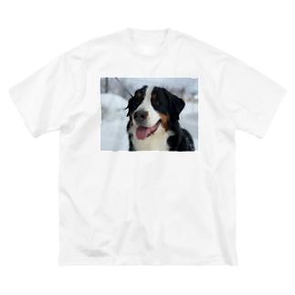 サントス Big silhouette T-shirts