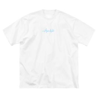 bless you T-sh Big silhouette T-shirts