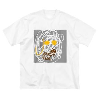 犬 Big silhouette T-shirts