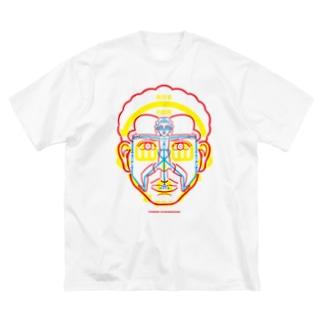 図人間1_2 Big silhouette T-shirts