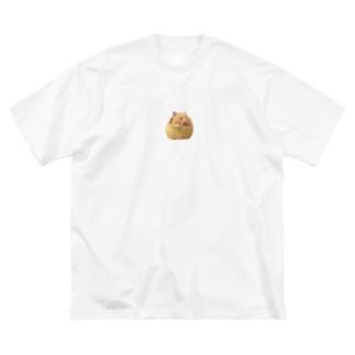 まったりぽち Big silhouette T-shirts