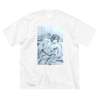 アース Big silhouette T-shirts