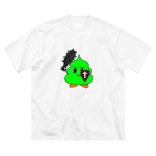 ミニうんぽこないとっ! Big silhouette T-shirts