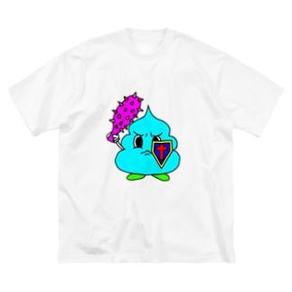 うんぽこないとっ! Big silhouette T-shirts