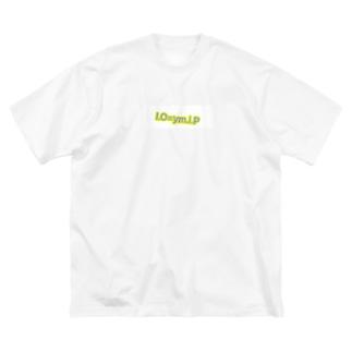 io=ymip Big silhouette T-shirts