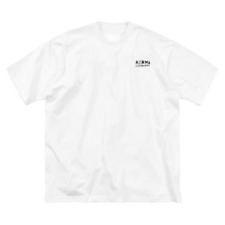 Azami Big silhouette T-shirts