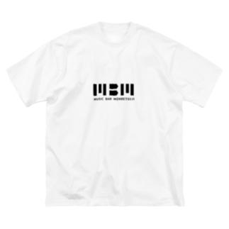 カクカクMBM Big silhouette T-shirts