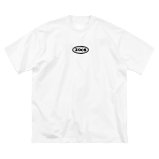 西暦 2008年 Western calendar  Big silhouette T-shirts