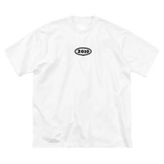 西暦 2010年 Western calendar  Big silhouette T-shirts