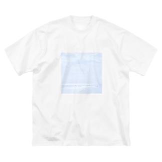 waves / Big T-shirts Big silhouette T-shirts