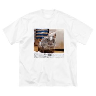 なにをみとるー② Big silhouette T-shirts