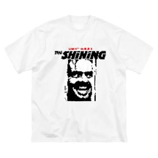 THE SHINING Big silhouette T-shirts