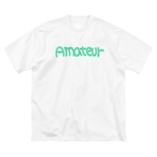 アマチュア② Big silhouette T-shirts