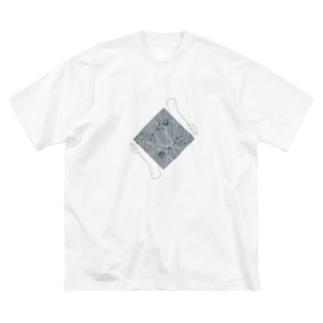 記憶の中の植物園 Big silhouette T-shirts