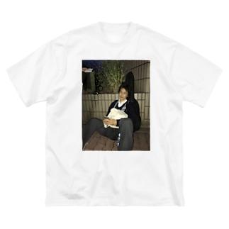 KOBAYASHI-MELTDOWN Big silhouette T-shirts