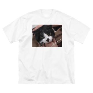 プーちゃん Big silhouette T-shirts