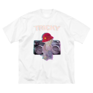 tricky boy Big silhouette T-shirts