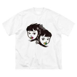 セニョ生誕記念グッズ Big silhouette T-shirts