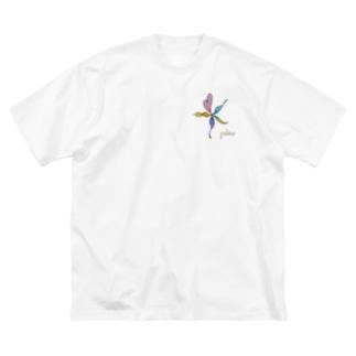 ありのまま Big silhouette T-shirts