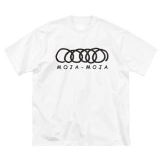 moja-moja Big silhouette T-shirts