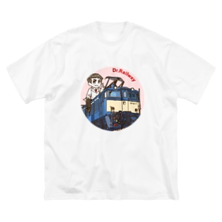 鉄道博士 EF63 Big silhouette T-shirts