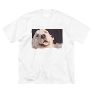 The dog was surprised. Big silhouette T-shirts