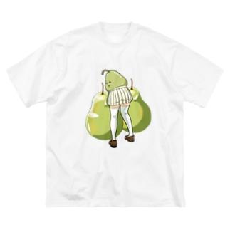 仏嶋 フランソワーズ (ぶつじま ふらんそわーず) Big silhouette T-shirts