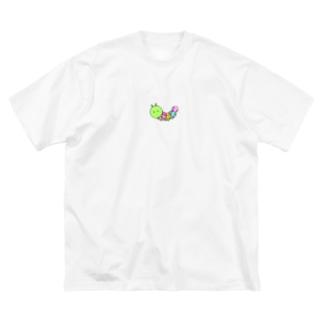 イモムシ Big T-shirts