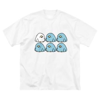 電線でぐちぐち言うTORI Big silhouette T-shirts