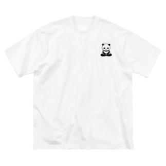 ざパンダ Big Silhouette T-Shirt