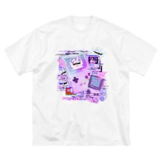 バグり散らかし🌟てぃ~ちゃつ💕💕 Big silhouette T-shirts