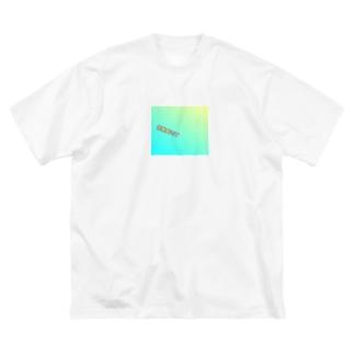 花粉症マスク Big silhouette T-shirts