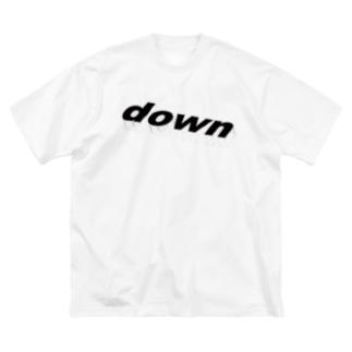 クールダウン Big silhouette T-shirts
