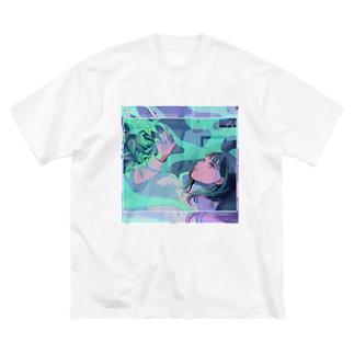 思い出のほうが綺麗 Big silhouette T-shirts