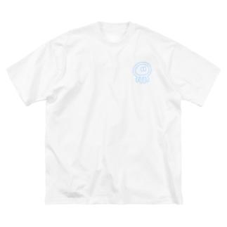 ネオンクラゲ Big silhouette T-shirts