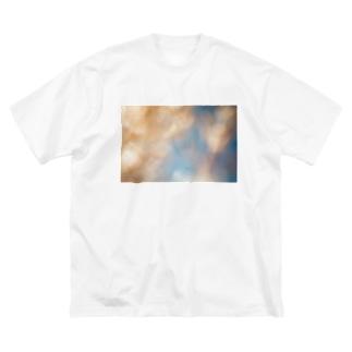 近距離植物 Big silhouette T-shirts