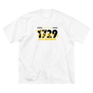 1729 Big silhouette T-shirts