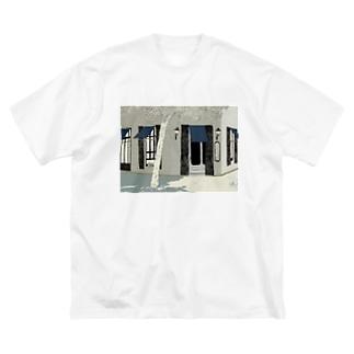 ホルヘ・ファン通り Big silhouette T-shirts