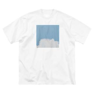 おそらのTシャツ Big silhouette T-shirts