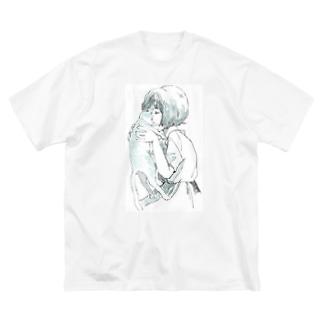 ねこくんかくんか Big T-shirts