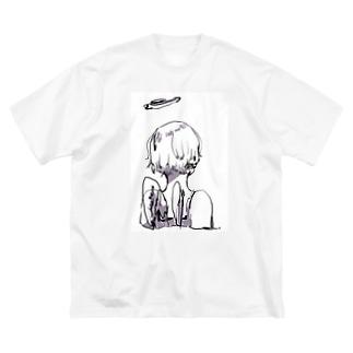ゆののC1/C1 (purple) Big Silhouette T-Shirt