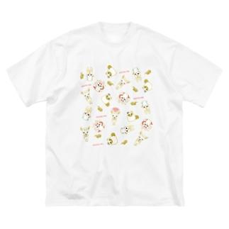 眷属ランダム Big silhouette T-shirts