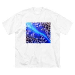 天の川 Big silhouette T-shirts