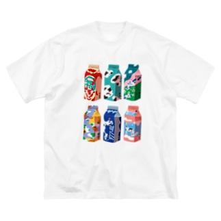 モーモーミルク Big silhouette T-shirts