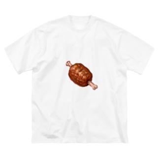 肉 Big Silhouette T-Shirt