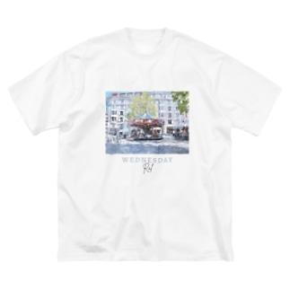 WEDNESDAY tee Big silhouette T-shirts